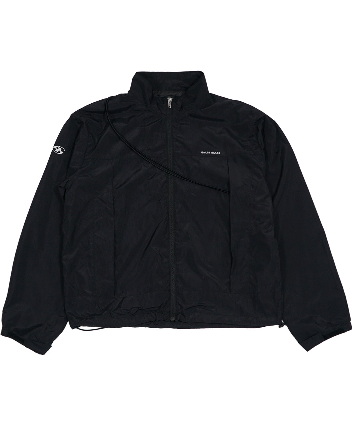 STRING JACKET BLACK