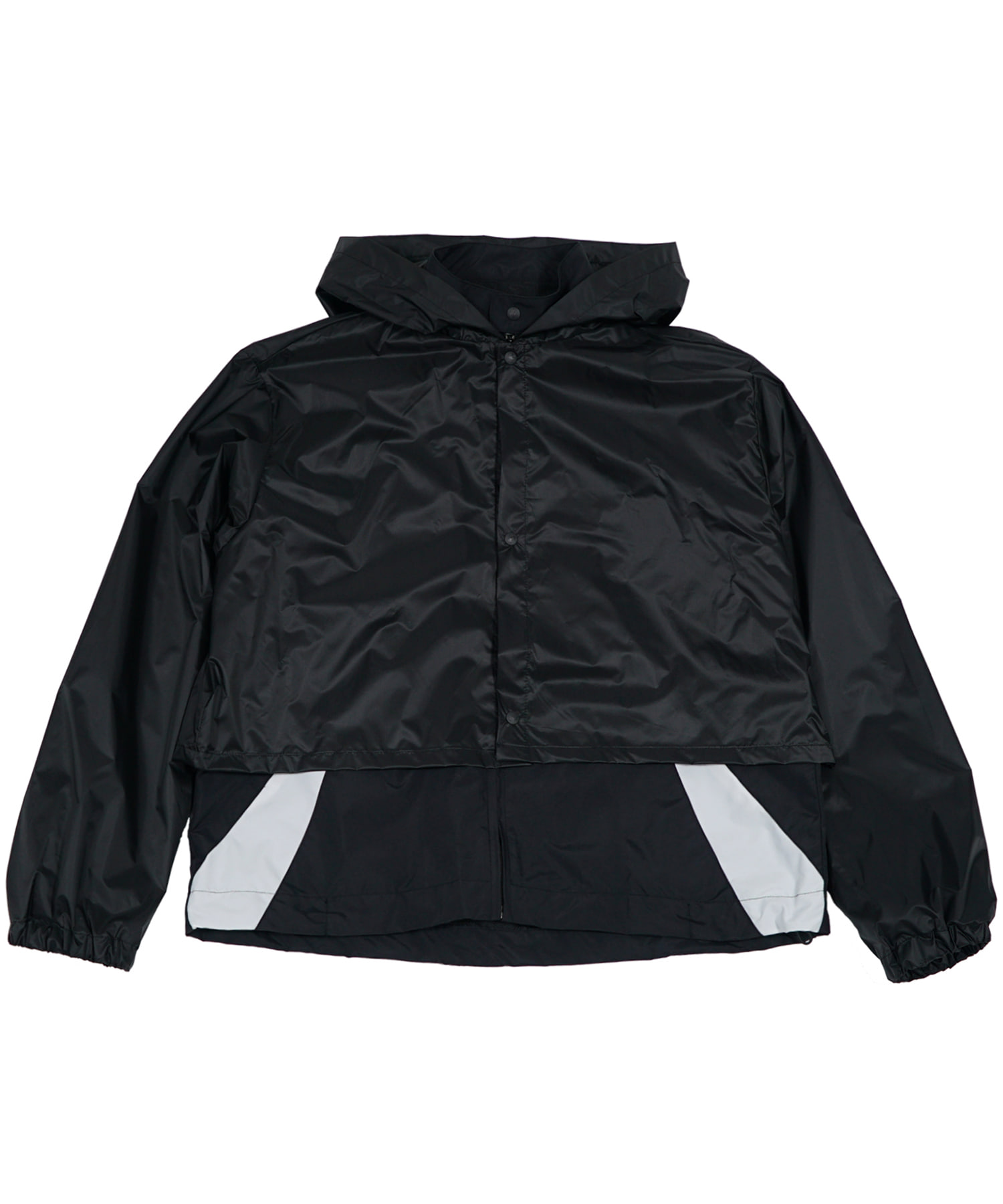 TRACK JACKET w/ RAIN COVER BLACK