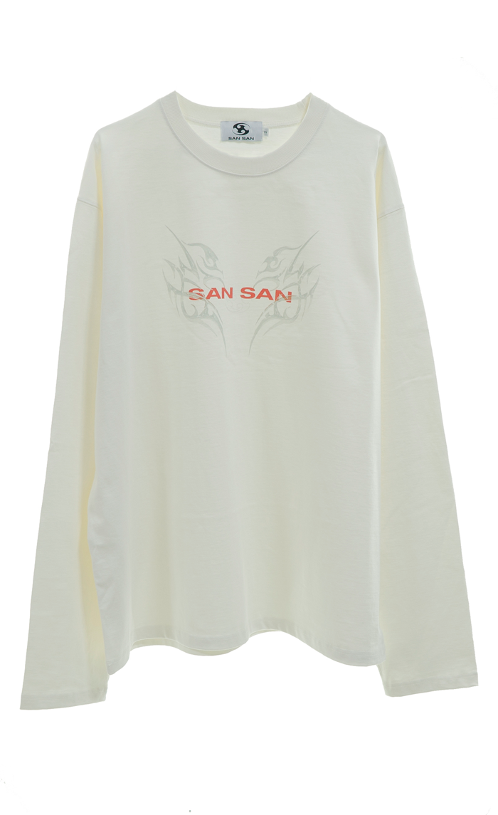 LONG SLEEVES IVORY