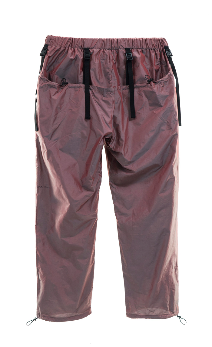BICOLOR DOUBLE PANTS RED