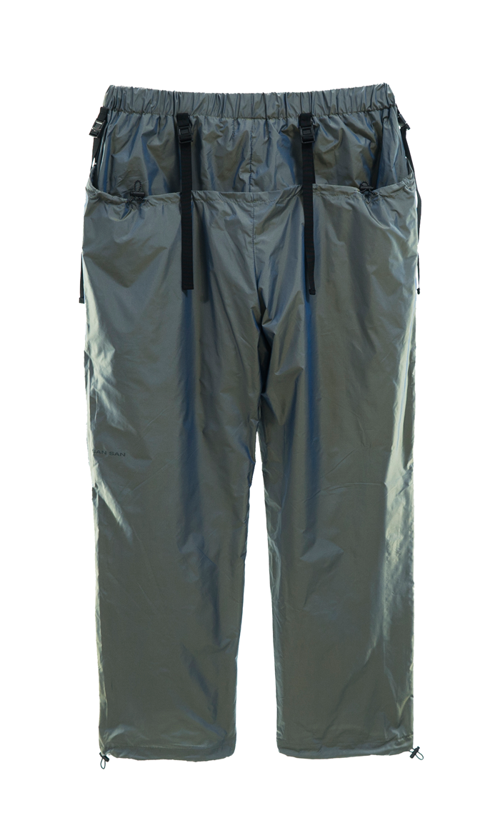 BICOLOR DOUBLE PANTS GREEN
