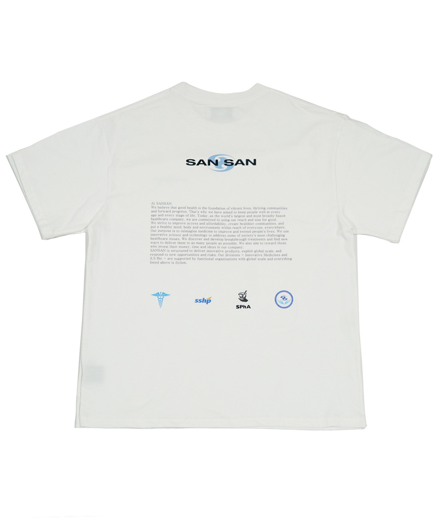 INTRODUCTION T-SHIRTS WHITE