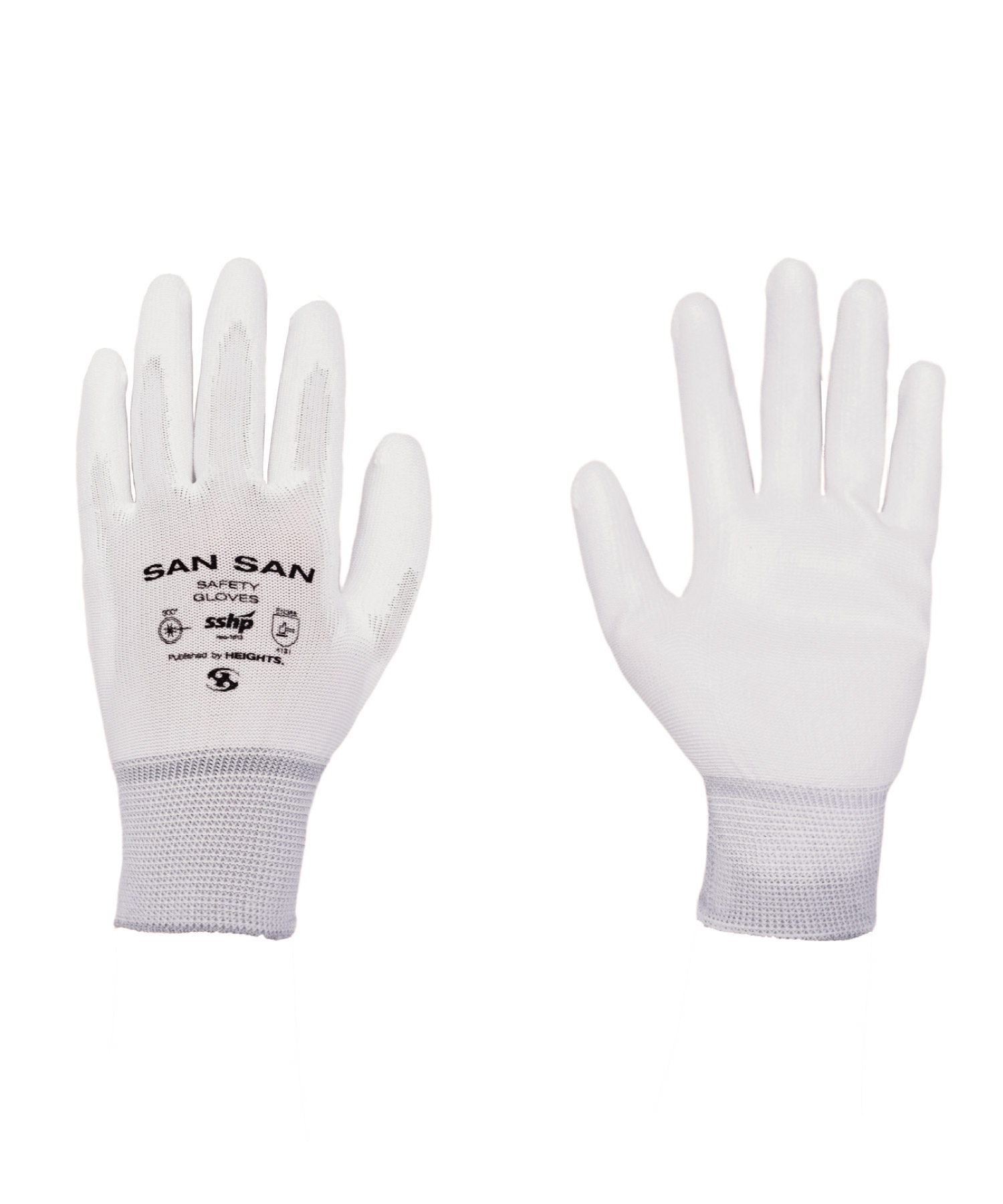 SAFETY GLOVES WHITE (2 SET IN 1 PACK)