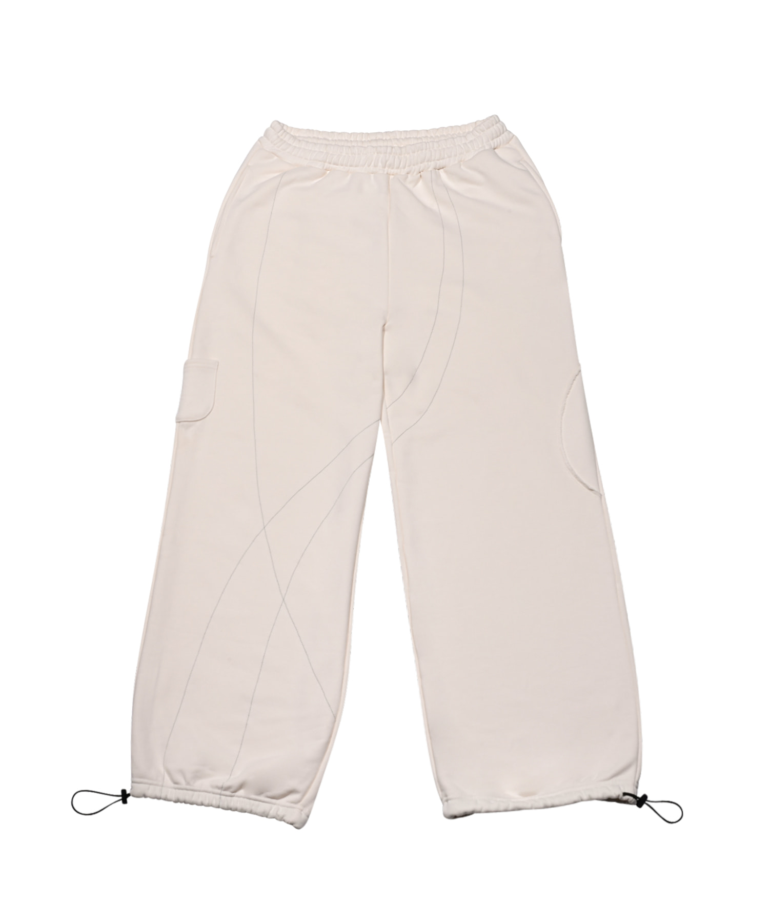 SWEAT PANTS IVORY