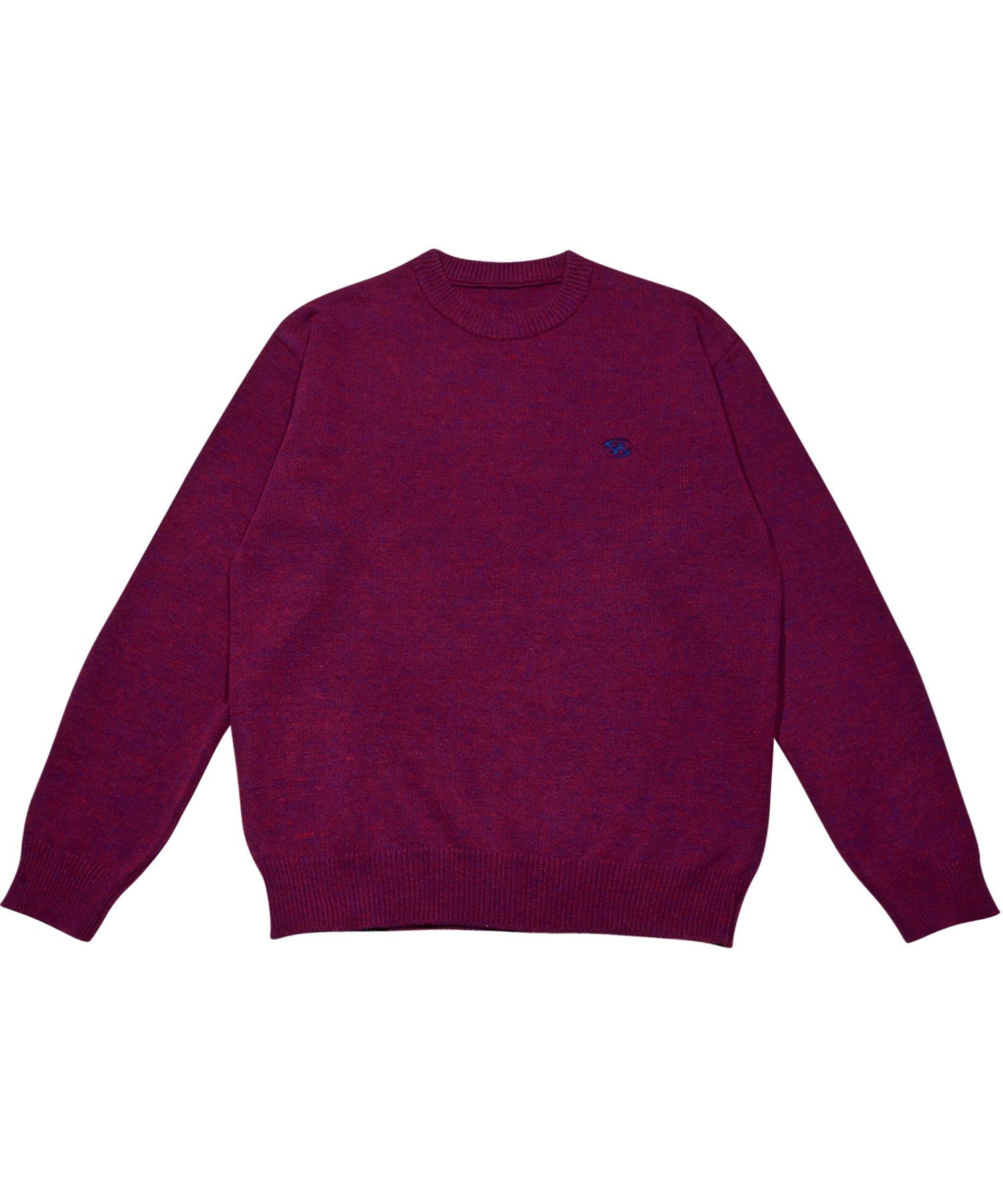 LOGO KNIT PURPLE (be released in Oct.)