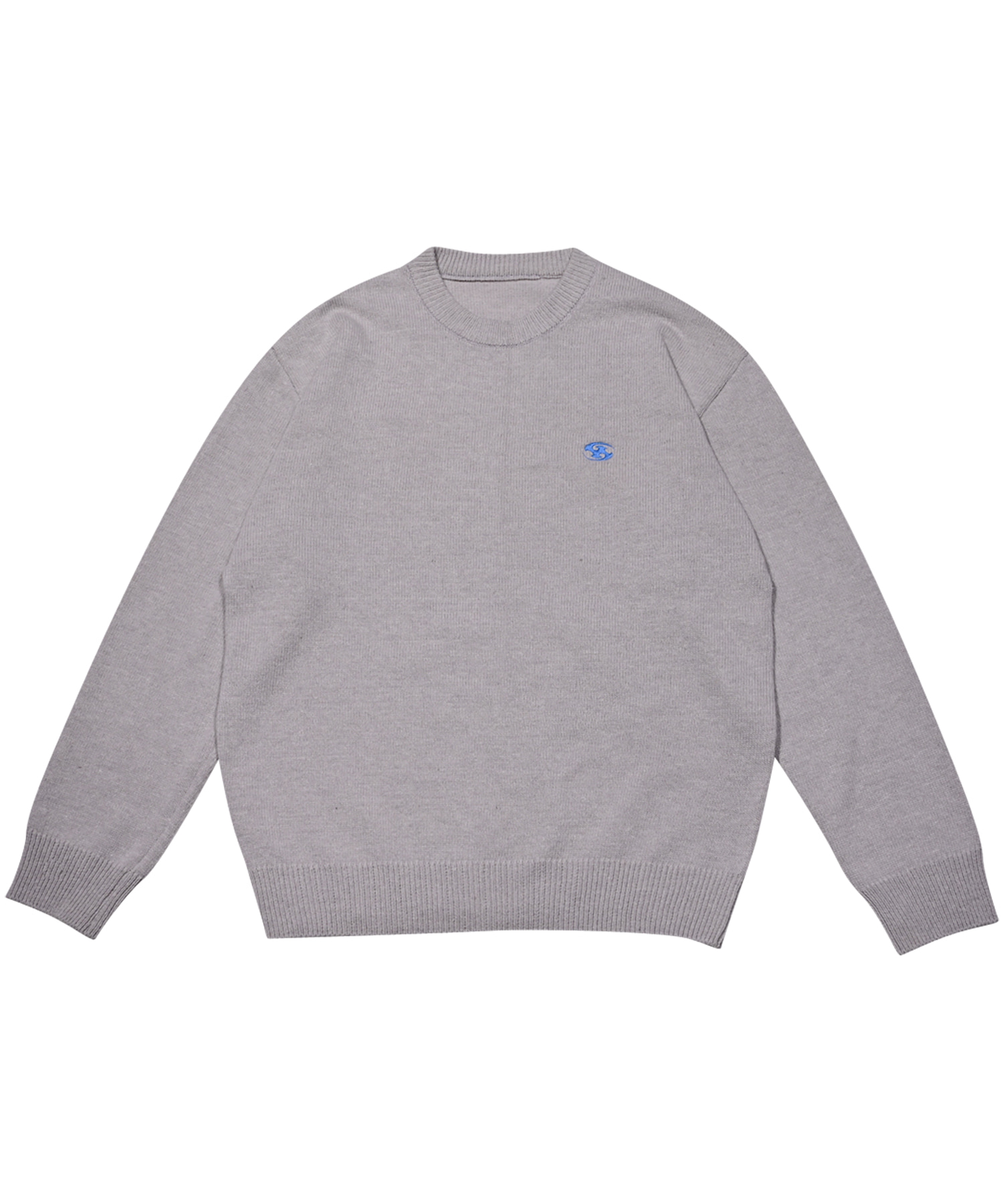 LOGO KNIT GRAY (be released in Oct.)